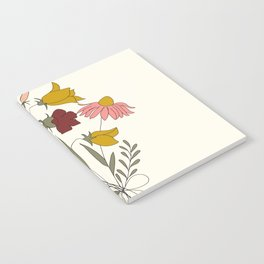 Wildflowers Bouquet Notebook