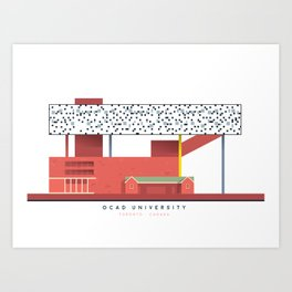 OCAD University | Icon-O-Tecture Art Print