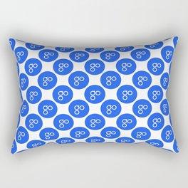 Omisego (Omg) - Crypto Fashion Art (Medium) Rectangular Pillow