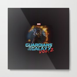 Guardians Of The Galaxy 2 Metal Print