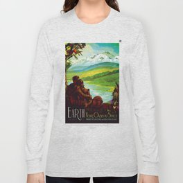 Earth - Your Oasis in Space Long Sleeve T-shirt