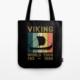 Viking World Tour Vikings Ship Thor Tote Bag