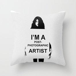 Art work by Patricia Ortega Throw Pillow
