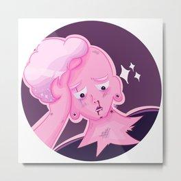 Pink boy lars - circle ver. Metal Print