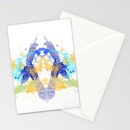 Personality Test: Blue Blot Stationery Cards