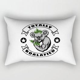 Totally Koalafied Rectangular Pillow