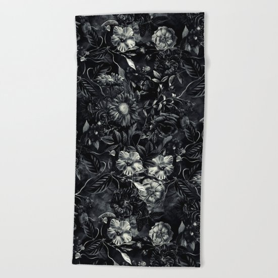 Darkness Beach Towel