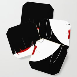 Modern Geisha #2 Coaster