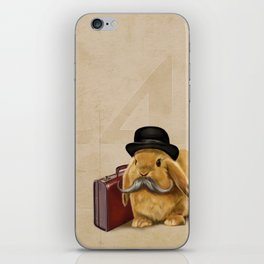 Commuter Bunny iPhone Skin