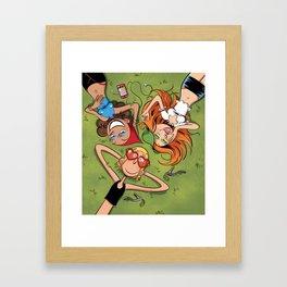 Journée d'été Framed Art Print