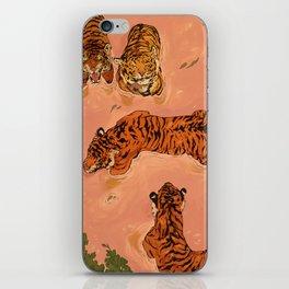 Tiger Beach iPhone Skin