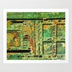 Electronic Integration VIII Art Print