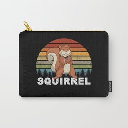 Squirrel For Nature Camping Fun Activities Carry-All Pouch