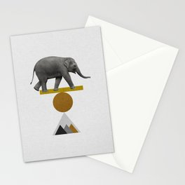 Tribal Elephant Stationery Cards
