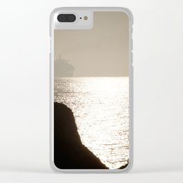 Container Ship Clear iPhone Case