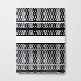 Stainless Steel Strips Metal Print