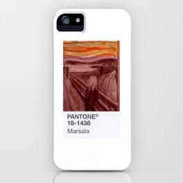 PANTONE Art 2015 iPhone Case