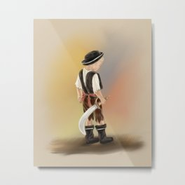 A Young Pirate Metal Print