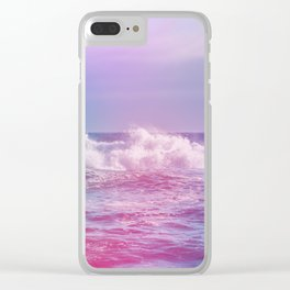 The Waves want your Loving Glances Clear iPhone Case