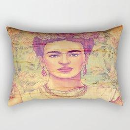 daft punk & frida Rectangular Pillow