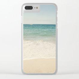 Redondo Beach Clear iPhone Case
