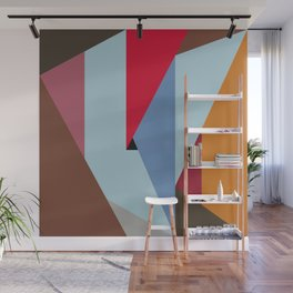 Abstract Composition 676 Wall Mural