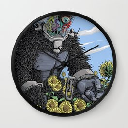 The Unshackled Dream Wall Clock