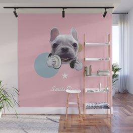 French Bulldog Wall Mural