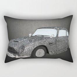 James Bond Aston Martin DB5 Rectangular Pillow