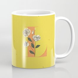 L for Lisianthus Coffee Mug
