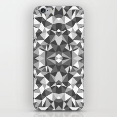 Abstract Colide Black and White iPhone & iPod Skin