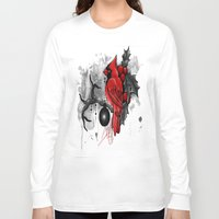 cardinal Long Sleeve T-shirts featuring Cardinal. by SynthiaManson
