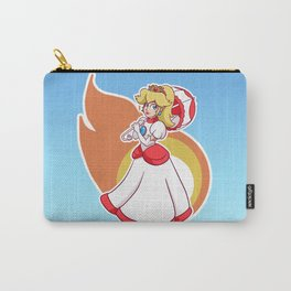 Fire Flower Peach! Carry-All Pouch