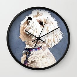 Beggin' for More Wall Clock