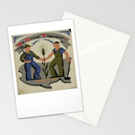 We Grow Together Stationery Cards
