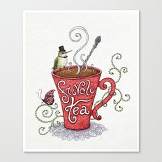 Frivoli-Tea Canvas Print