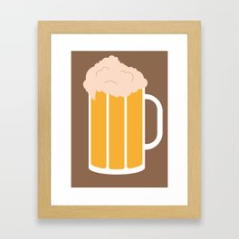 Beer! Framed Art Print