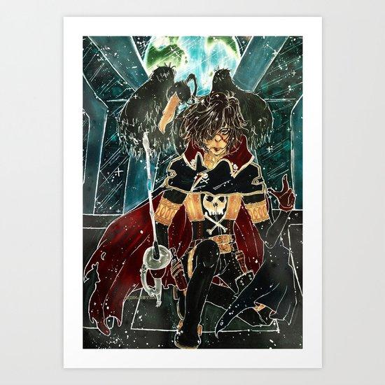 harlock Art Print