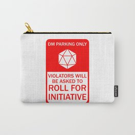 DM Parking Only Carry-All Pouch