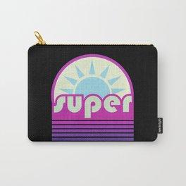 super duper ultraviolet Carry-All Pouch