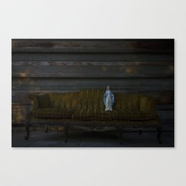 Random Mary on a couch Canvas Print