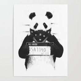 Bad panda Poster