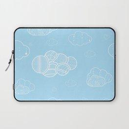 A cloudy sky Laptop Sleeve