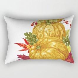 Harvest Season Mountain Rectangular Pillow