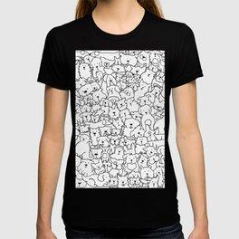 Dog Doodle Art T-shirt