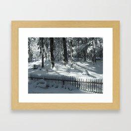 Wating for Spring Framed Art Print