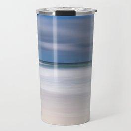 blue seas cloudy sky Travel Mug
