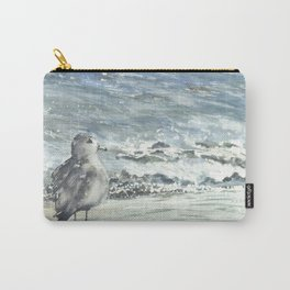 Seagull, Watercolour Carry-All Pouch