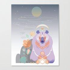 Bear of the Mountain Canvas Print