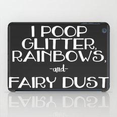 poop iPad Case